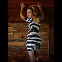 Jeni: Halloween Striping , Just Having Fun Dressing Up Slutty For Halloween !