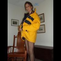 Candi Annie Naked Under Coat