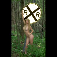 Nude By The Railroad , Check These Hot Pics Of Sherry Nude By The Railroad