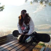 First Time - Snowboard Time , Morgana In The Mountains Snowboarding, After Skiing. Because   She Little Having A Snow , We Made two Photos! (With The Car On The Street :) !! )  Morgana In Montagna A Fare Snowboard, Dopo La Sciata.. Vista La Poca Neve Abbiamo Fatti Due Foto!! (con Le Auto Sulla Strada :) !! )  Kiss/Baci