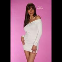 Clair S Little White Dress