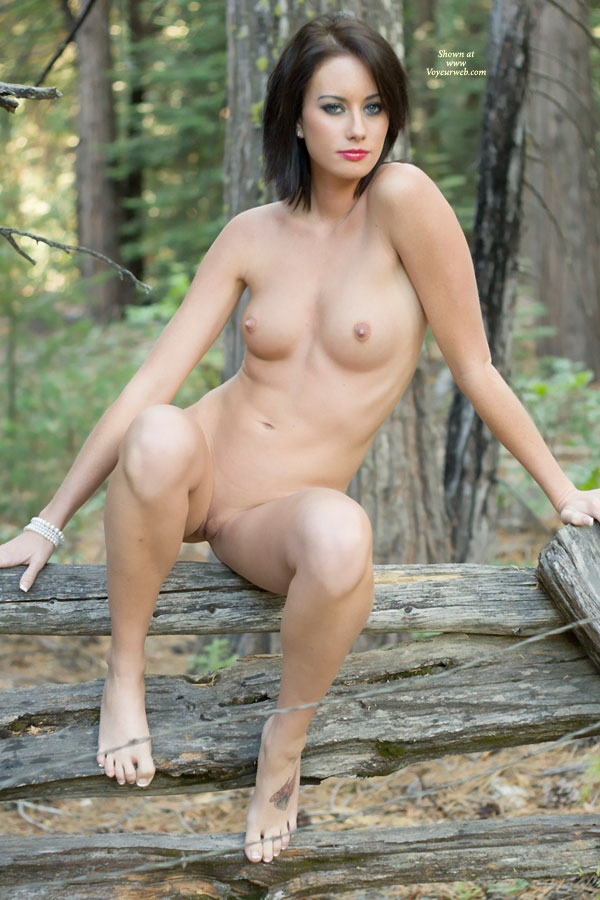 Naked Sexy Girl Sitting On Wood January 2012 Voyeur Web Hall Of Fame