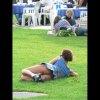 Upskirt Voyeur - Upskirt , Ass Is In The Grass, Park Upskirt, Public Up Skirt, Ass In The Grass