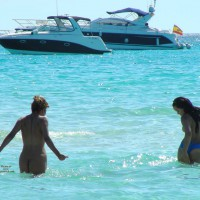 Girl With Perfect Body At Mallorca Beach 2