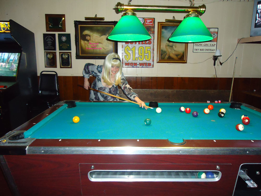 Stella Goes To The Bar , Stella And I Went Out To To The Bar To Play Some Pool And Since There Weren't Many Other Patrons Around, We Decided It Was A Good Night To Get Some Pictures.  By The Way, Stella Won As Usual.....................