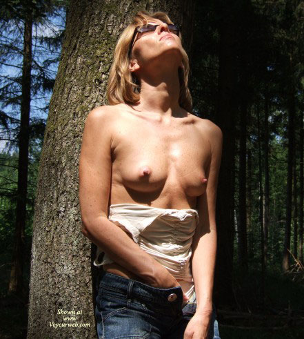 Pic #1Hot Strip In The Forest!