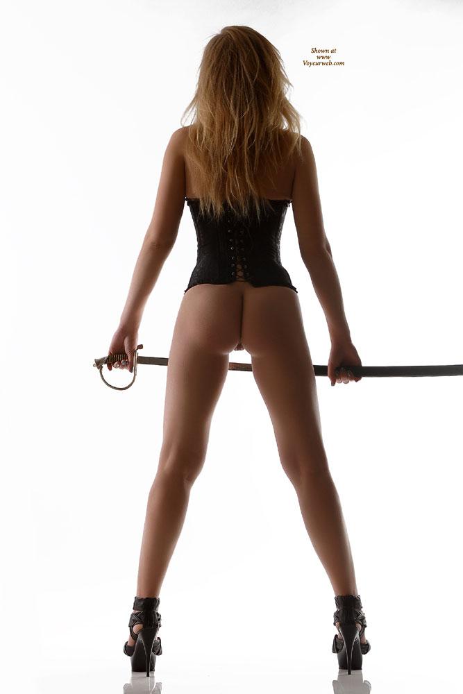 Black Platform Stilletto Heels - Heels, Bald Pussy, Hot Girl , Pantyless Girl, Amateur Photos, Black Corset, Firm Ass, Rear Bottomless View In Corset And High Heels, Rear View In Corset And High Heels, Black Silky Lace-up Corset
