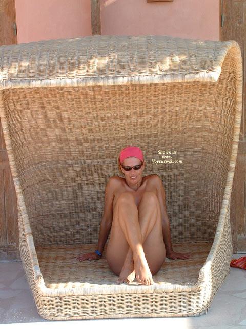 Wicker Woman - Girls, Sunglasses , Wicker Woman, Basket Babe, Crossed Legs, Sunglasses