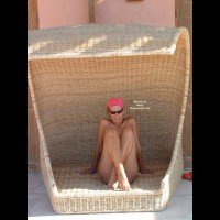 Wicker Woman - Girls, Sunglasses , Wicker Woman, Basket Babe, Crossed Legs, Sunglasses