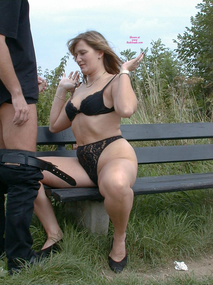 German Milf Outdoor