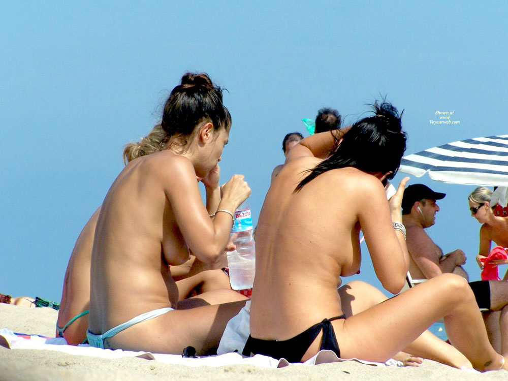 Friends On The Beach.. , Nice Ass And Tits..