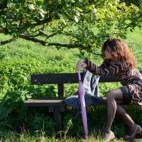A Bench In The Woods , Hi! I'm Florinda (Flo For Friends ;) ) I'm 47 Yo, I'm From German And I Like To Show My Body.  And I Hope You Appreciate It! I Like Lingerie (bodystockings And Babydoll Are My Favorites). I Wait For Your Comments (from Women Ang Girls Too.. ;) ) And Your Votes!!!! So I'll Send Soon New Pics! This Is Just A Taste... Last November, I Found A Bench In The Woods...