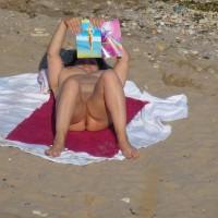 Nude On Beach 2