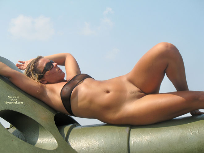 Landing Strip - Bottomless, Landing Strip , Landing Strip, See-thru Top, Bottomless, Sun Worshipper, Sculpture