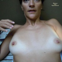 Tits Ready For Cum , Wud Anyone Like To Cum On These Tits??