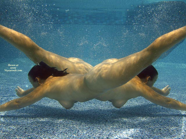 Dance - Girls , Dance, Two Girls, Underwater, Nude Mermaids, Underwater Photo, Two Nude Fems, In Pool, Diving