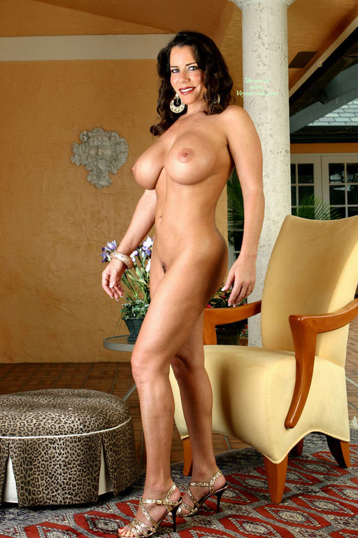 Full Frontal Nude Quarter Profile - Brown Hair, Dark Hair, Heels, Huge Tits, Large Aerolas, Milf, Naked Girl, Nude Amateur , Big Breasts, Enhanced Breasts, Huge Round Tits, Curly Dark Brown Hair, Standing Body Picture, Perfect Milf, Beautiful Smile