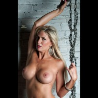 Vicky In Chains , Victoria Sexy Chained Pics