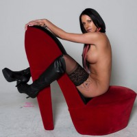 Luscious Red Shoes II