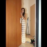 White Net Dress