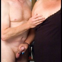 *jo Handjob And Titty Peek
