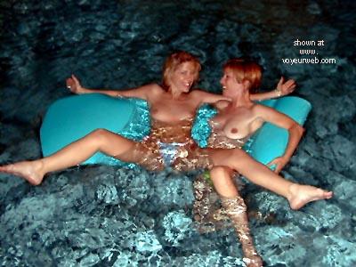 Pic #1 Lora      & Phoebe Get Wet