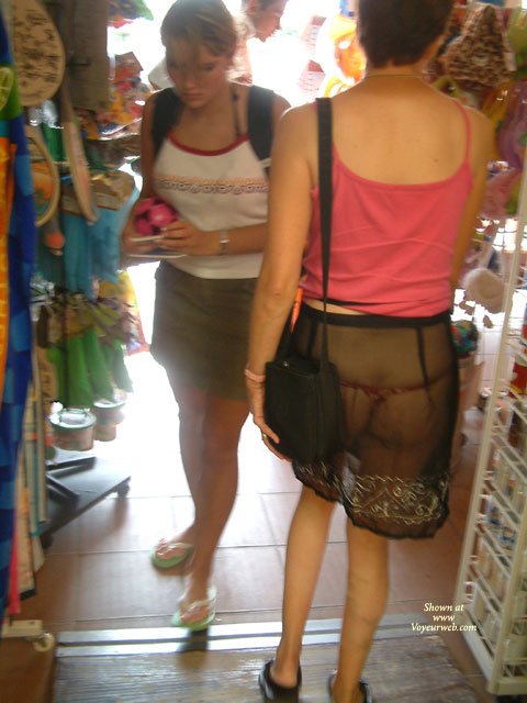 Pic #1See-through In Public