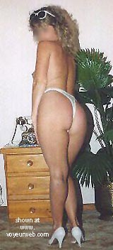 Pic #1 White G_String