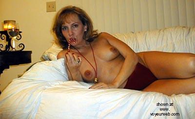 Pic #1 Wife      @ 40 Ho Ho Ho pt2