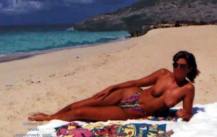 Pic #1 Sondra at the Beach