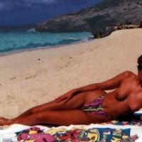 Sondra at the Beach