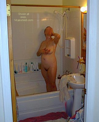 Pic #1 Deb      in the Shower