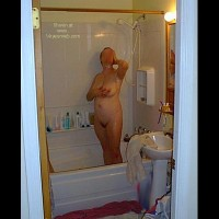 Deb      in the Shower