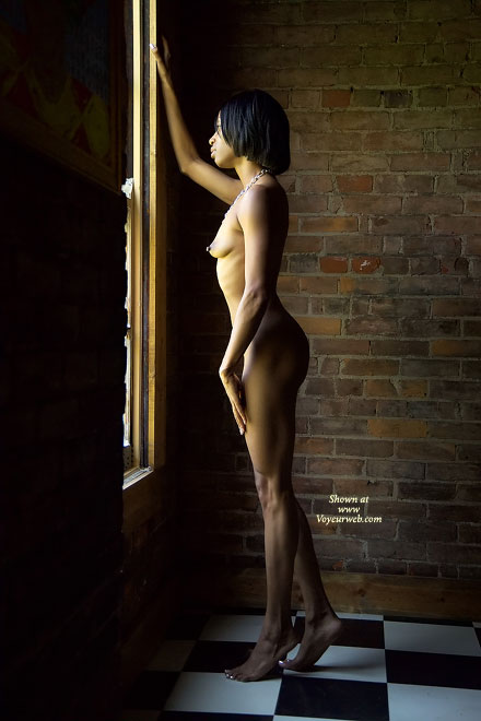Nude African American - Artistic Nude, Nude Amateur , Nude African American, Artistic Lighting, Nude Looking Out Window, Contrast Nude, Hard Body  Thick Nipples, Sculpted Hard Body