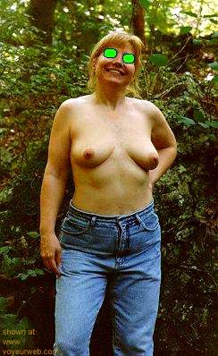 Pic #1 Naked      in the Woods