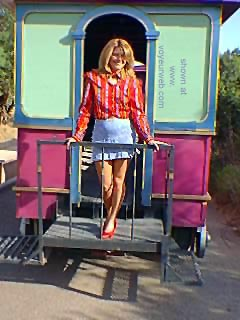 Pic #1 KayDee      and the Trolley 1