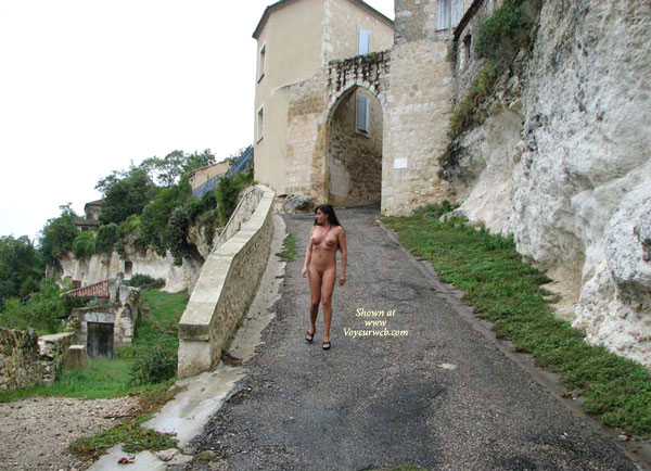 Exhibitionist - Big Tits, Close Up, Exhibitionist, Naked Brunette, Nude Outdoors , Exhibitionist, Naked Walking, Nude In Front Of Castle, Outdoor Nudity, Naked Brunette, Walking Outdoors, Nude Girl Closeup, Big Boobs