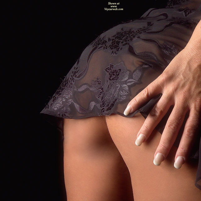 Barely Covered Ass - Close Up, See Through, Sexy Lingerie , Barely Covered Ass, Black Lingerie, Very Short Skirt, Closeup, Bent Over Lingerie, See Through