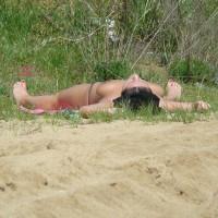 Beach Voyeur:Topless Girl - Beach Voyeur