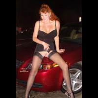 Sandy redhead voyer