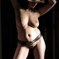 Cowgirl - Brunette, Close-ups, Small Tits