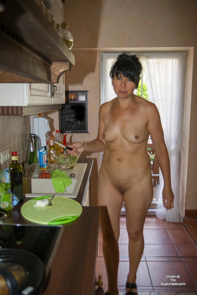 Cooking , Last Week My Hubby Asked Me For A Special Lunch With A Sweet Fruit. So I Cooked And Served Him Naked ;-)