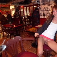 Flashing Pussy in Bars and Restaurants in Hong Kong 2 , Hi Everyone,