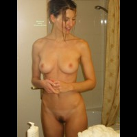 Nude Wife In Bathroom - Dark Hair, Firm Tits, Hairy Bush, Perfect Tits, Trimmed Pussy, Naked Girl, Nude Amateur, Nude Wife , Nude In The Bathroom, Naked In The Bathroom, Showered And Clean, Medium Natual Tits, Bathroom Nude, Medium Sized Breasts, Full Body Nude, Medium Sized Pink Areolas, Naked Wife