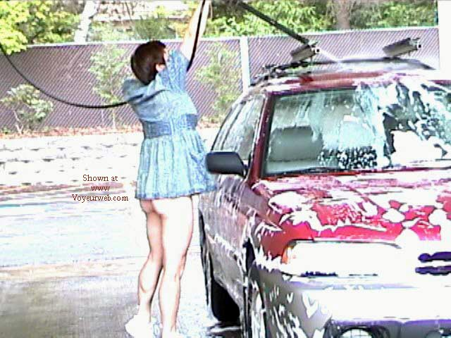 Pic #1 Still Flashing- At the Car Wash