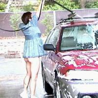Still Flashing- At the Car Wash