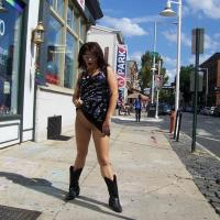 Around Philly Again - Exposed In Public, Flashing, Nude In Public , Out For A Day Of Flashing And Fun Around Town Last Weekend. We Had A Great Time.  If You Recognize Us, Say Hi. Maybe We'll Let You Play Too.