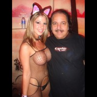 Ron Jeremy - Big Tits, Fishnet, G String, Sexy Panties , Ron Jeremy, Black Fishnet Catsuit, Erotic Costume, Black G-string, Blonde Girl In Catsuit, Big Boobs, Fishnet, Black Panties, Fishnet Body Suit