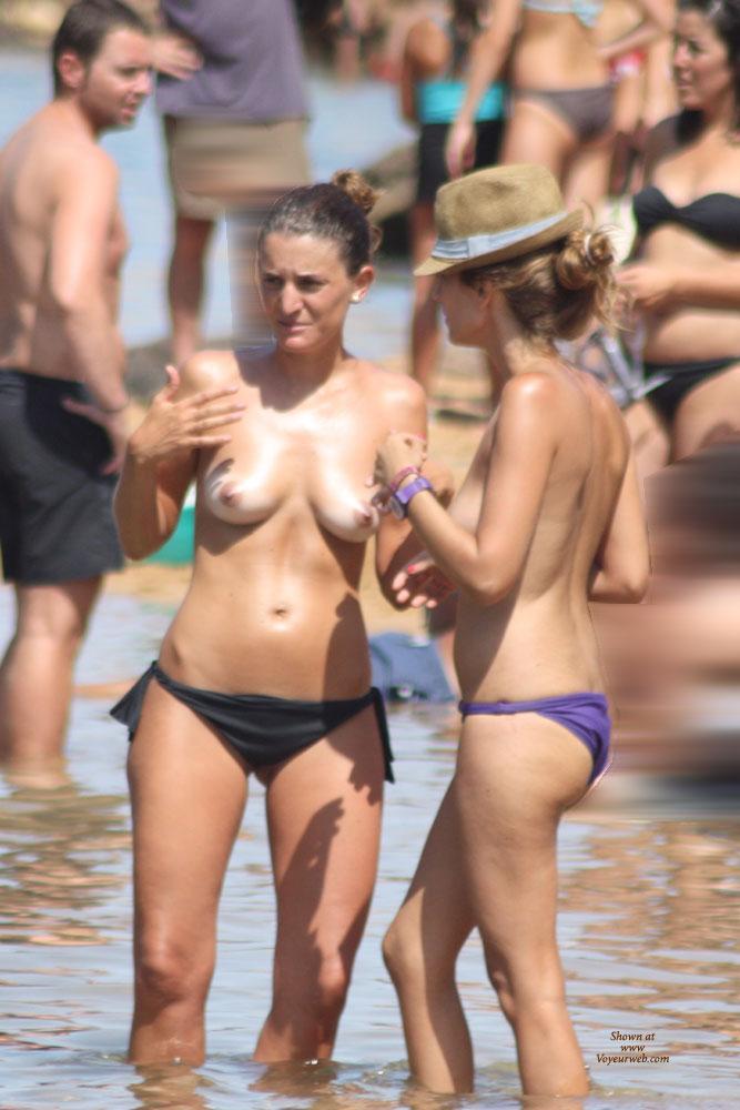 Balearic Topless (2) - Beach Voyeur