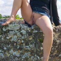Upskirt - Outdoors, Bush Or Hairy, Dressed
